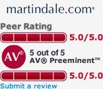 Martindale Rating