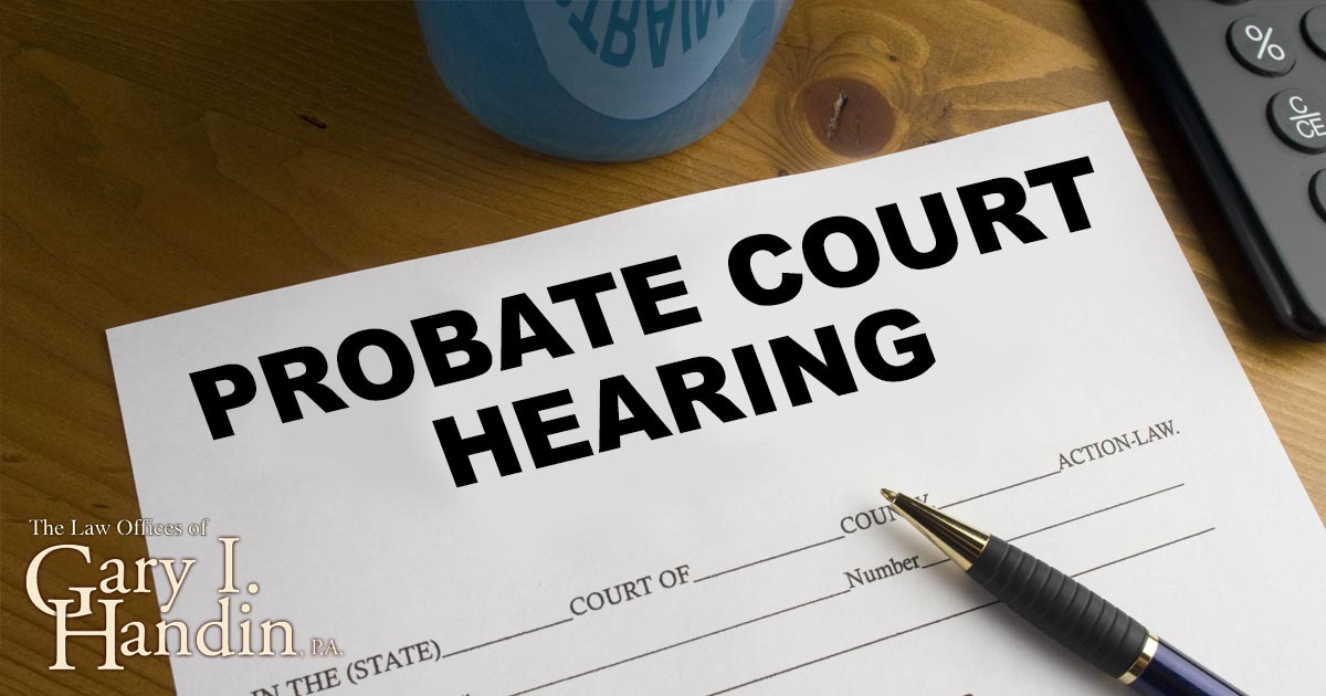 Avoid Probate
