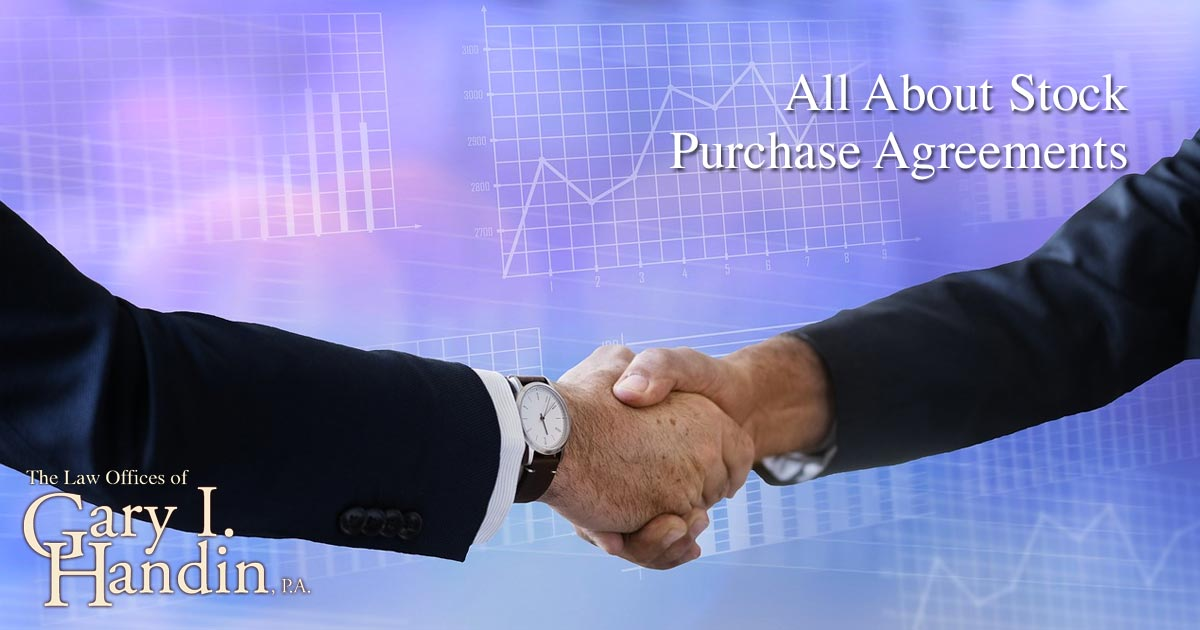 All About Stock Purchase Agreements