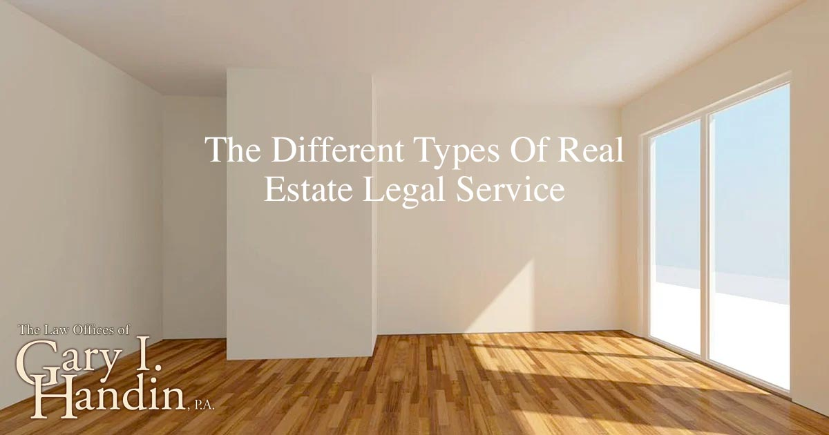 Real Estate Legal Service