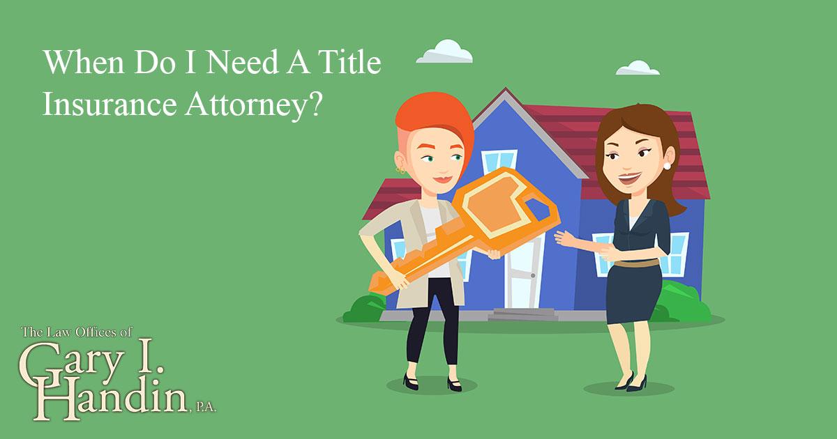 Title Insurance Attorney